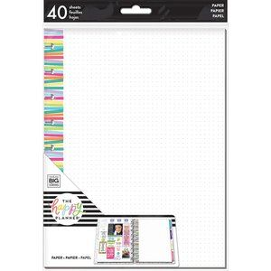 The Happy Planner Color Stripe Grid Dot Fill Paper
